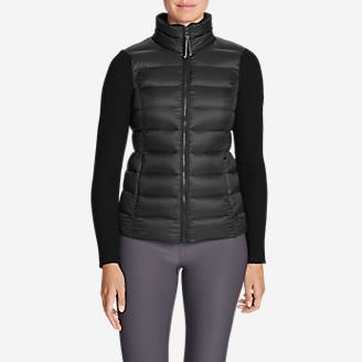 Women's Spruce Hybrid Jacket in Black