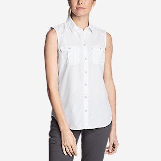 Women's Mountain Sleeveless Shirt in White