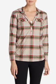 Women's Atlas Hooded Shirt in Gray
