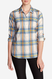 Women's Expedition Flex Flannel Shirt in Blue