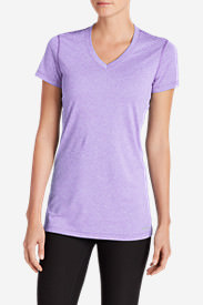 Women's Resolution V-Neck T-Shirt in Purple