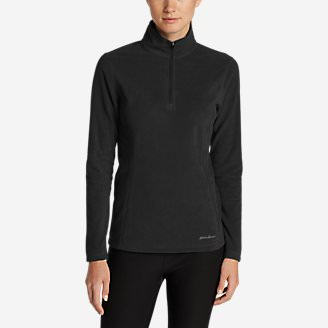 Women's Quest 1/4-Zip Pullover in Black