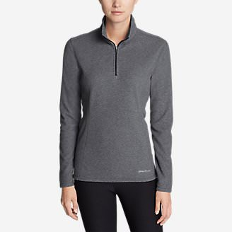 Women's Quest 1/4-Zip Pullover in Gray