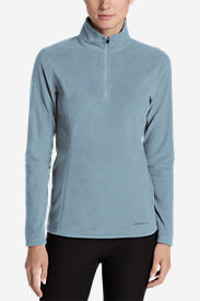 Women's Quest 1/4-Zip Pullover in Blue