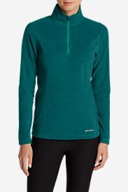 Women's Quest 1/4-Zip Pullover in Green