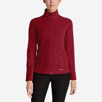 Women's Quest Full-Zip Jacket in Red