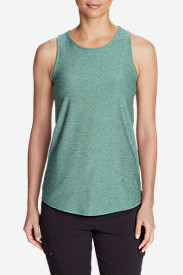 Women's Infinity Swing Tank Top in Blue