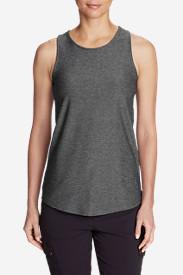 Women's Infinity Swing Tank Top in Gray