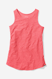 Women's Infinity Swing Tank Top in Red
