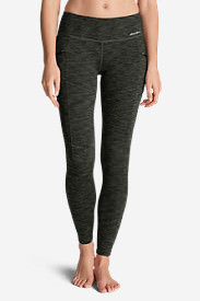Women's Trail Tight Leggings - 2D Heather in Green