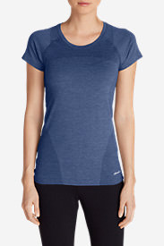 Women's Resolution Flux T-Shirt in Blue