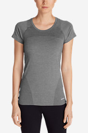 Women's Resolution Flux T-Shirt in Gray