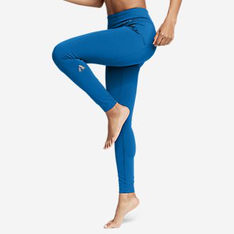 Women's Guide Pro Trail Tight Leggings in Blue