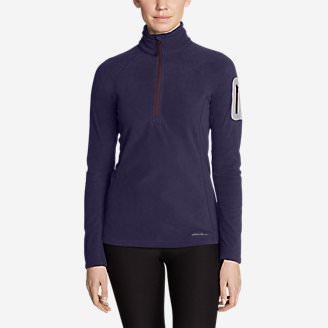Women's Cloud Layer® Pro Fleece 1/4-Zip Pullover in Purple