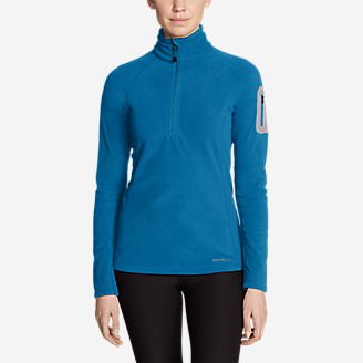 Women's Cloud Layer Pro Fleece 1/4-Zip Pullover in Blue