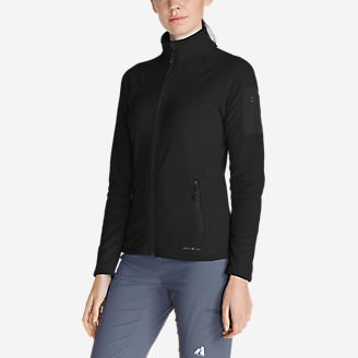 Women's Cloud Layer Pro Fleece Full-Zip Jacket in Black