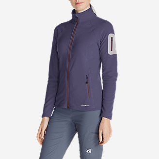 Women's Cloud Layer Pro Fleece Full-Zip Jacket in Purple
