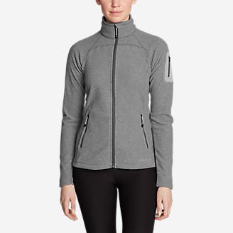 Women's Cloud Layer Pro Fleece Full-Zip Jacket in Gray