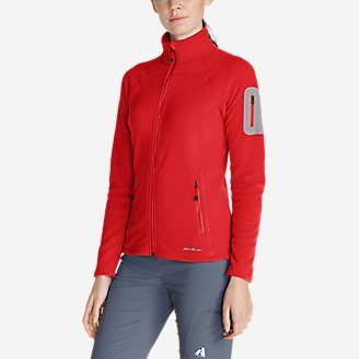 Women's Cloud Layer Pro Fleece Full-Zip Jacket in Red