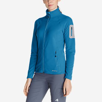 Women's Cloud Layer Pro Fleece Full-Zip Jacket in Blue
