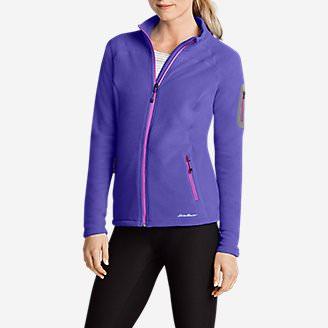 Women's Cloud Layer Pro Fleece Full-Zip Jacket in Blue