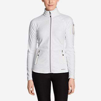 Women's Cloud Layer Pro Fleece Full-Zip Jacket in White