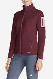 Women's Cloud Layer® Pro Fleece Full-Zip Jacket in Red
