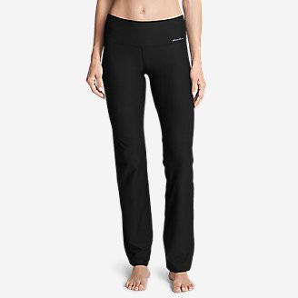 Women's Movement Stretch Pants in Black