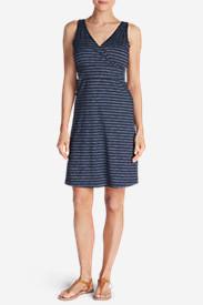 Women's Aster Dress - Pattern in Blue