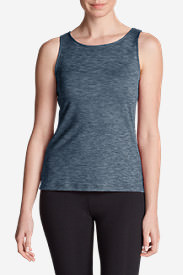 Women's Aster Tank Top - Print in Blue
