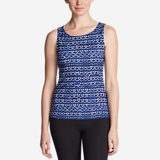 Women's Aster Tank Top - Print in Purple