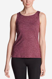 Women's Aster Tank Top - Print in Red