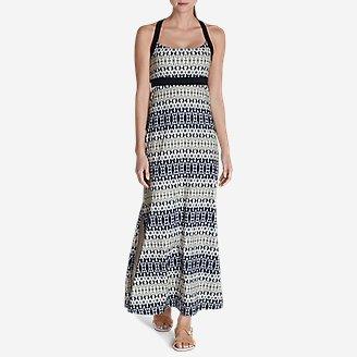 Women's Aster Maxi Dress - Print in Blue