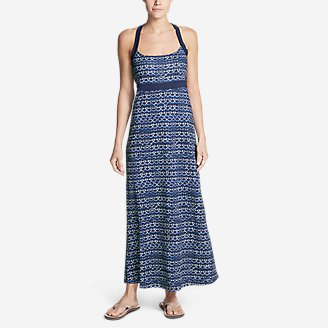 Women's Aster Maxi Dress - Print in Purple