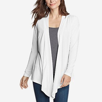 Women's Daisy 2.0 Long-Sleeve Wrap - Solid in White