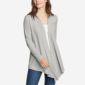Women's Daisy 2.0 Long-Sleeve Wrap - Solid in Gray