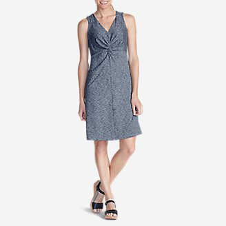 0471a9c3fa Women's Aster Tie The Knot Dress - Space Dye in Blue