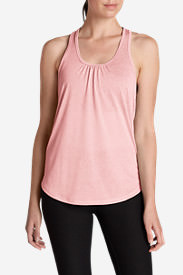 Women's Resolution Burnout Tank Top in Red