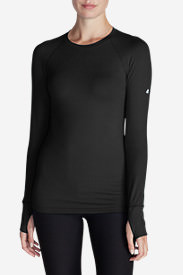 Women's Resolution IR Crew Shirt in Black