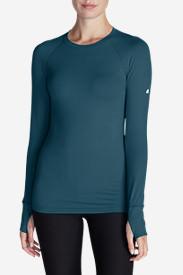 Women's Resolution IR Crew Shirt in Green
