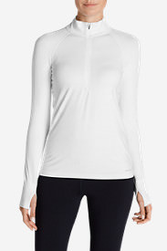 Women's Resolution IR 1/4-Zip in White