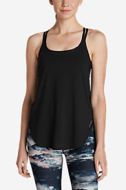 Women's Resolution Burnout Double Up Cami in Black
