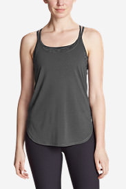 Women's Resolution Burnout Double Up Cami in Gray