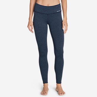 Women's Movement Leggings - Jacquard in Blue