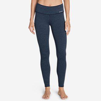 Women's Movement Leggings - Jacquard in Blue