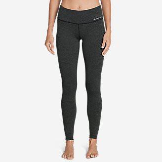 Women's Movement Leggings - Jacquard in Gray