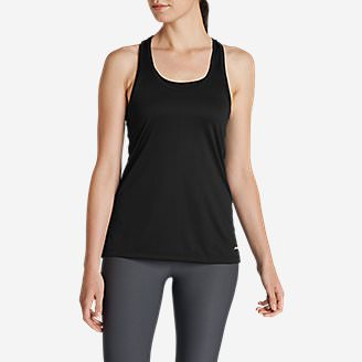 Women's Resolution Tank Top in Black