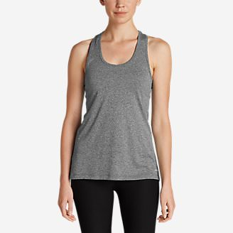 Women's Resolution Tank Top in Gray