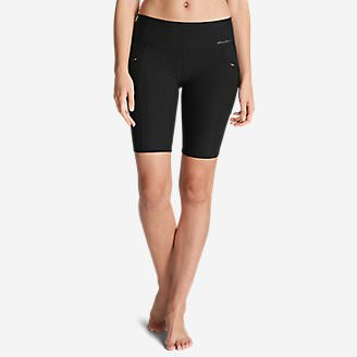 Women's Trail Tight Shorts in Black