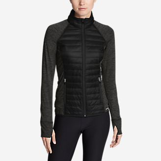 Women's IgniteLite Hybrid Jacket in Black